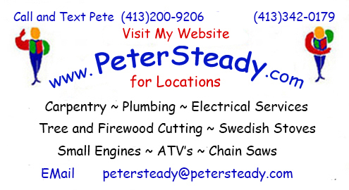 Peter Steady Card